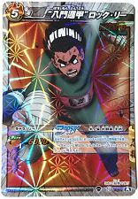 "Naruto Miracle Battle Carddass ""Eight Gates"" Rock Lee NR Boost Rare 73/77"