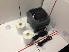 Zebra ZP 450 Thermal Label Barcode Printer 500 Labels Free Remote Tech Support
