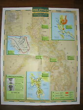 IMAGES OF WAR WWII CAMPAIGN MAP PHILIPPINES 20 OCTOBER 1944 TO 15 AUGUST 1945