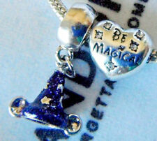 DISNEY CHARMS MICKEY MOUSE SORCERER HAT BE MAGICAL BEAD FREE PANDORA POUCH