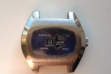 MENS VINTAGE INGERSOLL JUMP HOUR DIGITAL DISPLAY SWISS MADE WATCH FOR SPARES REP