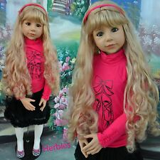 "Masterpiece Christina, Blonde, Blue Eyes by Monika Levenig 48"" Doll  IN STOCK"