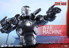 Hot Toys Captain America Civil War Diecast War Machine Mark III 1/6 Scale Figure