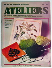 ANCIENNE REVUE ATELIERS, 1er TRIMESTRE DE 1976, VOLUME 2, No.27