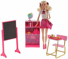 Barbie Princess Charm School Blair Doll Classroom Set NEW