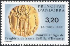 Andorra 1990 Coins/Money/Currency/Commerce/Business/History 1v (n45473)