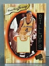 Chauncey Billups Game-used Jersey card 97 PressPass