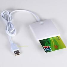 480 Mbps USB Contact Smart Chip Card IC Cards Reader Writer With SIM Slot New