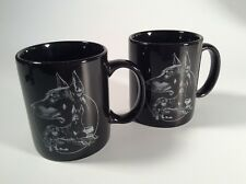 ( 2 ) Doberman Pincher, Coffee Mugs, Vintage, Dog, Pet,