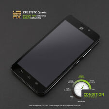 Android Smartphone ZTE Quartz Z797 Z797C Straight Talk 8GB Cellphone Clean ESN