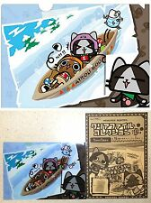 Monster Hunter AIROU Clear File Winter Sports A5 Sz CAPCOM Licensed NW Cat Kitty