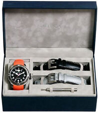 Men's Orange Nautica BFC Divers Box Set Watch N14508G