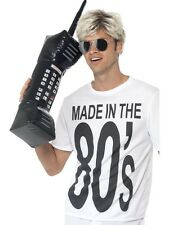 SALE Funny 80s Inflatable Retro Mobile Phone Fancy Dress Costume Party Accessory