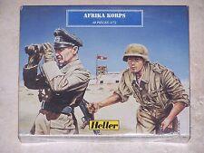 HELLER FIGURINES 1/72ème AFRIKA KORPS