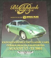 Blackhawk Automotive Catalogue Exposition Sale of Classic Cars 2005