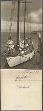 Vintage Press Photo Yacht Ship Saling Boat 261845
