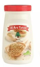 100% Pure Raw Elarz Tahini Whole Sesame Seed Paste (17.6oz) Kosher