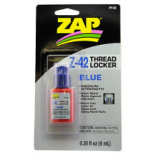 ZAP Thread Locker - Blue (0.20 fl oz / 6 ml)