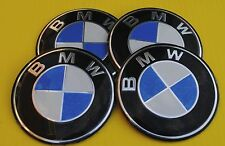 BMW Wheel Hub Caps Badge Emblem Stickers METAL 65mm Set of 4 HIGH QUALITY BIG!