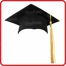 SQUARE MORTARBOARD GRADUATION HAT ACADEMIC CAP-BACHELOR MASTER DOCTOR CHANCELLOR