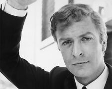 Michael Caine Giovane BW 10x8 Foto