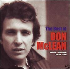 DON McLEAN The Best Of CD BRAND NEW American Pie