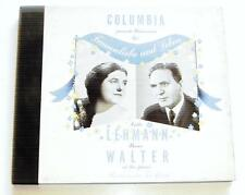 Lotte Lehmann W/ Bruno Walter 78 RPM Record Album Set COLUMBIA M-539 SCHUMANN