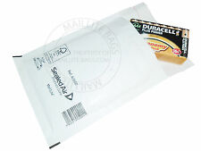 100 x Mail Lite Bubble Lined Mailer Size A/000 White Padded Mailing Envelope Bag