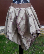 Handmade Earth Colour - Brown Leaf Pixie / Fairy Skirt