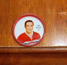 Shirriff Metal Coin Jean Beliveau # 32 1962-63  lot # 5 Montreal Canadians