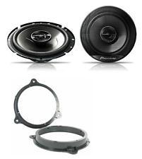 Peugeot 207 2006-2012 Pioneer 17cm Front Door Speaker Upgrade Kit 240W