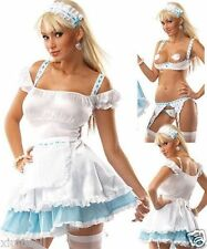 WOMEN SEXY Halloween Cosplay FRENCH MAID WAITER OUTFIT FANCY DRESS PARTY COSTUME