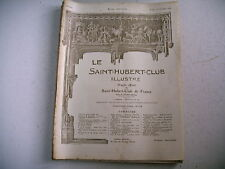 lot 9 revues chasse nature LE SAINT HUBERT 1922 - lot 2