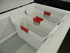 "Get **2** Brand New Frigidaire, Kenmore ""Deep"" Freezer/Storage Baskets"