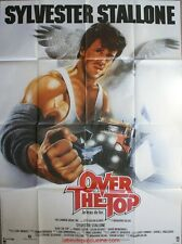 OVER THE TOP Affiche Cinéma ORIGINALE / Movie Poster SYLVESTER STALLONE