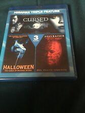 Wes Cravens Cursed/Halloween: The Curse of Michael Myers/Hellraiser: Hellseeker…