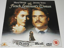 Daily Mail DVD - The French Lieutenant's Woman - Meryl Streep and Jeremy Irons