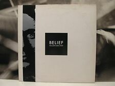 NITZER EBB - BELIEF LP EX-/EX UK 1989 MUTE RECORDS STUMM 61
