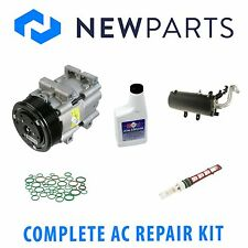 Ford F-250 Super Duty 99-03 Full A/C Repair Kit With New Compressor with Clutch