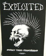 "EXPLOITED RÜCKENAUFNÄHER / BACKPATCH # 5 ""BEAT THE BASTARDS"""