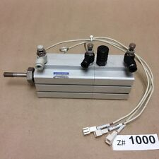 Koganei CDATS40x20x30-B-R Air Cylinder Jig w/ Valve Fittings and Limit Switches