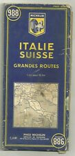 Carte Touristique Michelin - Italie Suisse grandes routes