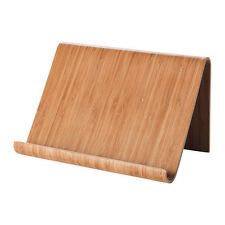 Ikea Rimforsa Bamboo Ipad Tablet Angled Stand sustainable eco-friendly real wood