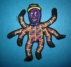 Henry The Octopus Wiggles Iron On Embroidered Hat Jacket Hoodie Patch Crest