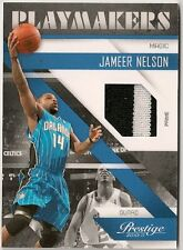 JAMEER NELSON PLAYMAKERS GAME WORN PRIME JERSEY #01/49 - ORLANDO MAGIC - RARE #1