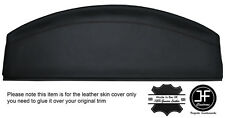 BLACK STITCHING REAR PARCEL SHELF LEATHER COVER FITS VW BEETLE 1998-2011