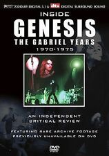 Inside Genesis: Critical Review 1970-1975 - The Gabriel Years DVD  Excellent!