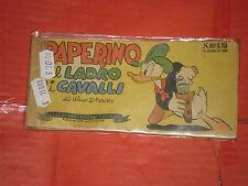 ALBI TASCABILI di TOPOLINO-STRISCIA N° 80-c-prima 1° SERIE originale del 1950-