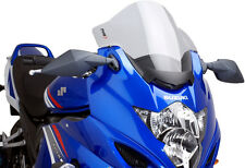 PUIG TOURING WINDSCREEN SMOKE GSX 650F/1250F/FA Fits: Suzuki GSX650F,GSX1250FA