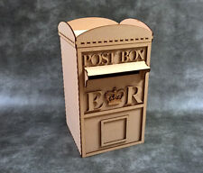 Wedding Post Box Craft Kit - Laser Cut mdf Craft Shapes / Guest book